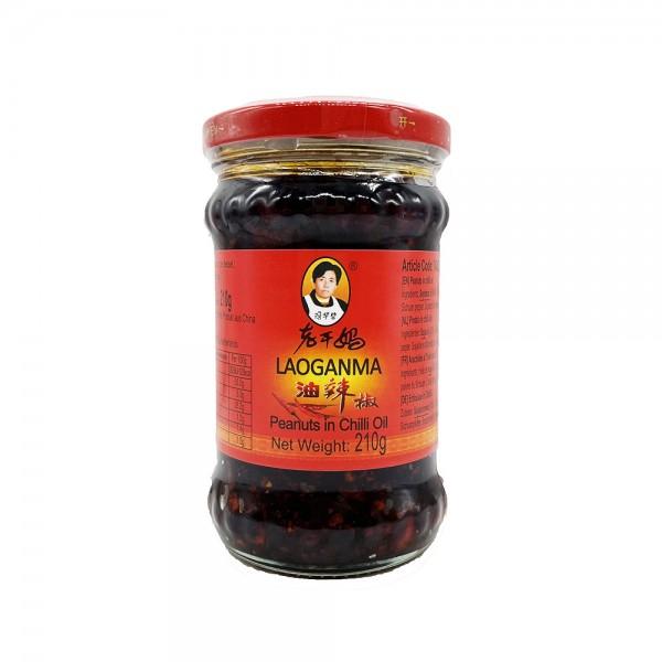 Chiliöl mit Erdnüssen Lao Gan Ma 210g