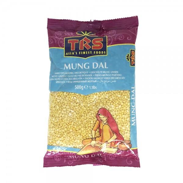 Mungobohnen geschält (Mung Dal) TRS 500g