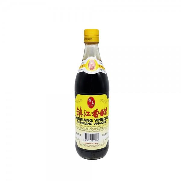 Schwarzer Reisessig Chinkiang Fu Xing 550ml