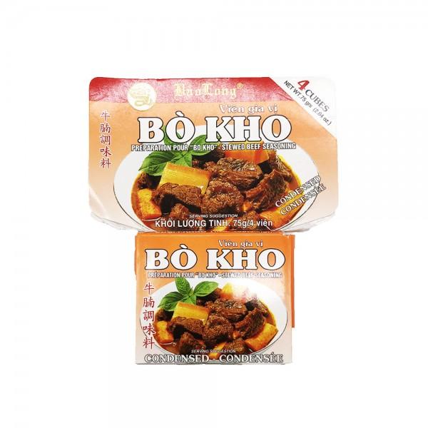 "Brühwürfel für ""Bo Kho"" Bao Long 75g"