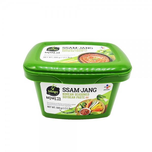 Ssamjang koreanische Sojabohnenpaste würzig Bibigo 500g