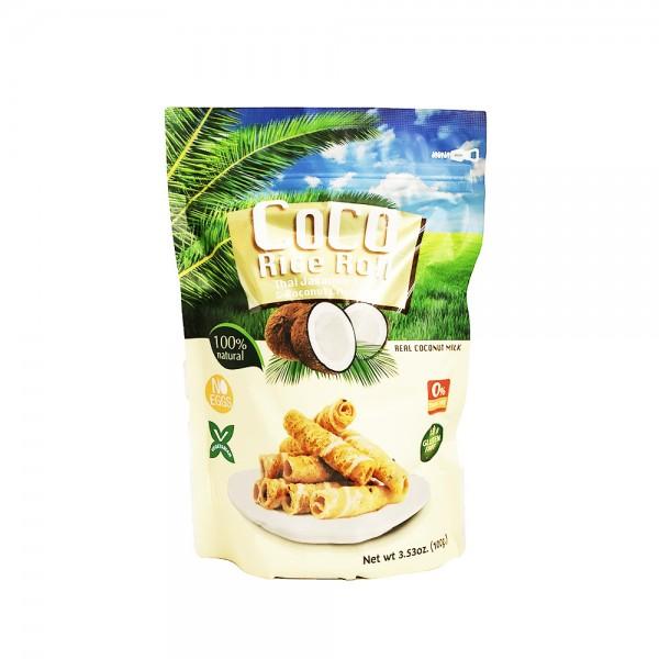 Knusprige Kokosreisrolle Coco 100g