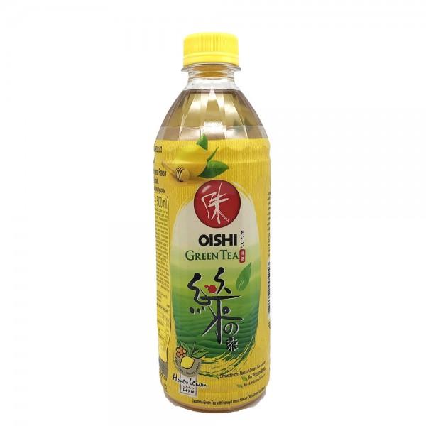 Grüner Tee Honig Zitrone Oishi 500ml