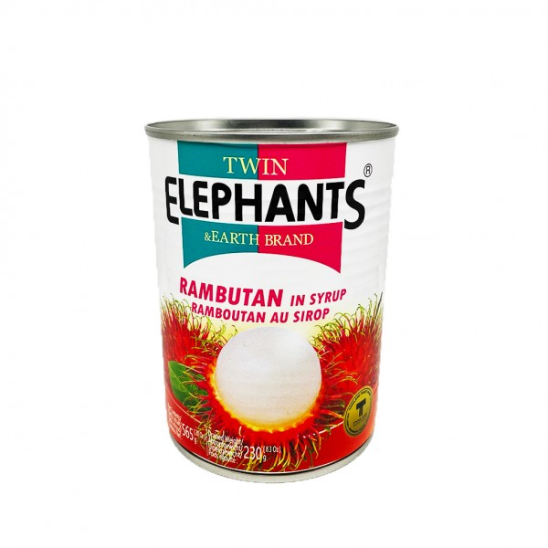 Rambutan in Sirup Twin Elephant & Earth 565g