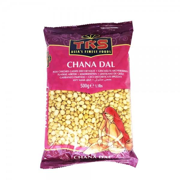 Kichererbsen geschält (Chana Dal) TRS