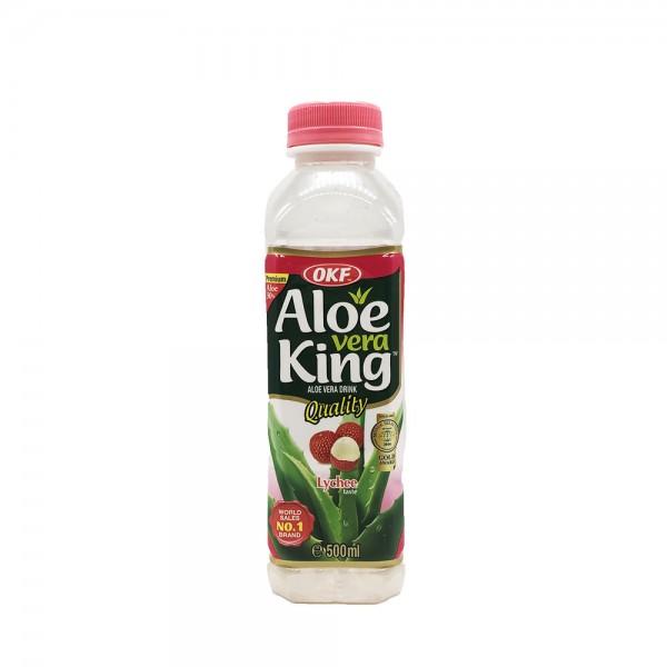 Aloe Vera Drink Lychee OKF 500ml