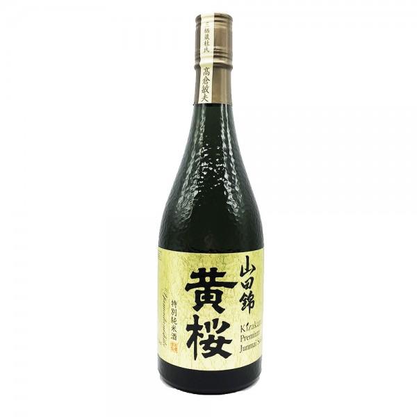 Japanischer Sake Junmai Yamadanishiki Kizakura 720ml
