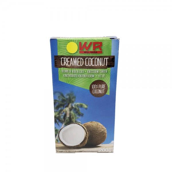 Kokoscreme Will Raisa 200g